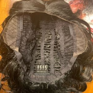 Isis Accessories - Isis jet black mermaid curly long wig futura 255